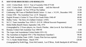 Souvenir Brochures and Booklets December Catalogue 2014