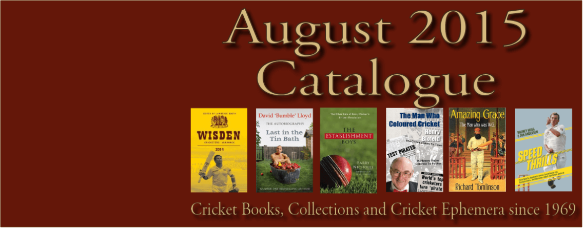 August 2015 Catalogue