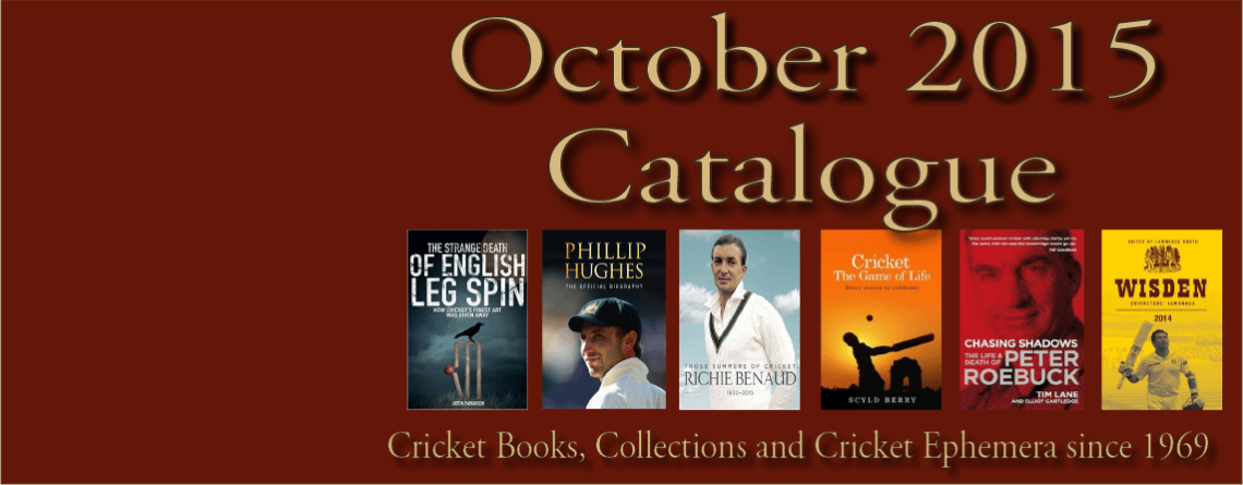 October 2015 Catalogue