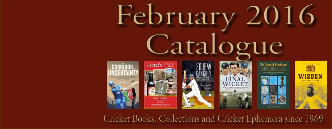 February  2016 Catalogue