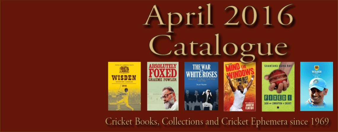 April  2016 Catalogue