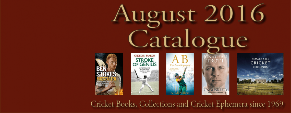 August  2016 Catalogue