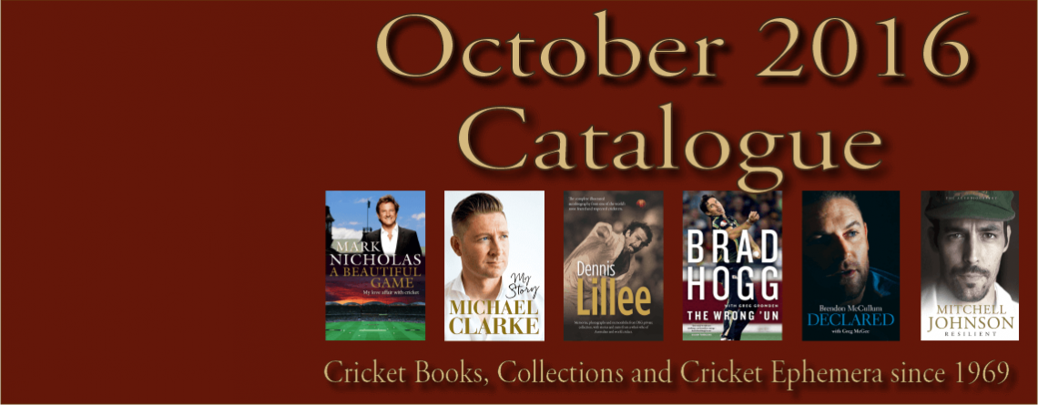 October 2016 Catalogue