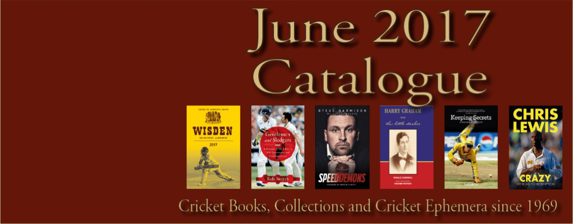 June 2017 Catalogue Cricket Books