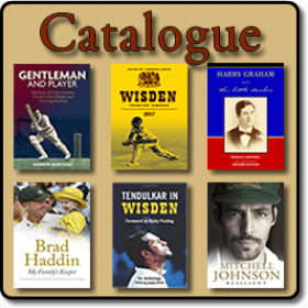 Roger Page Cricket Books and Memorabilia