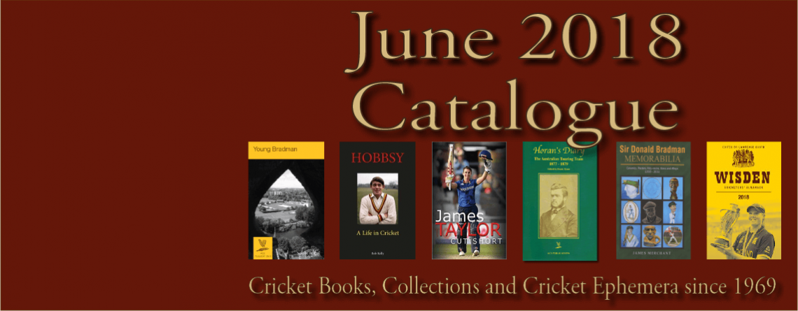 Roger Page Cricket Books Catalogue June 2018