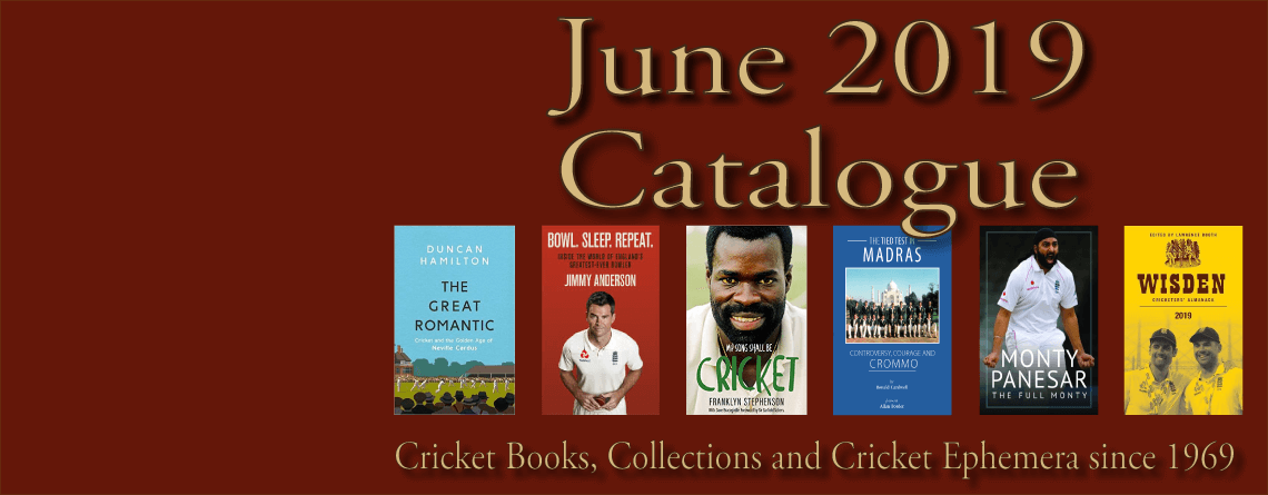 Roger Page Cricket Books Catalogue June2019