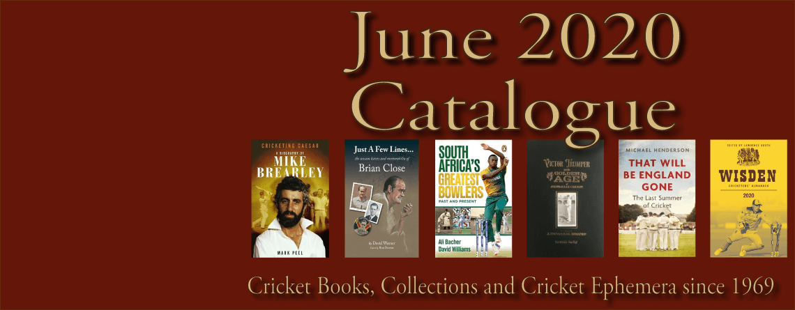 Roger Page Cricket Books Catalogue June 2020